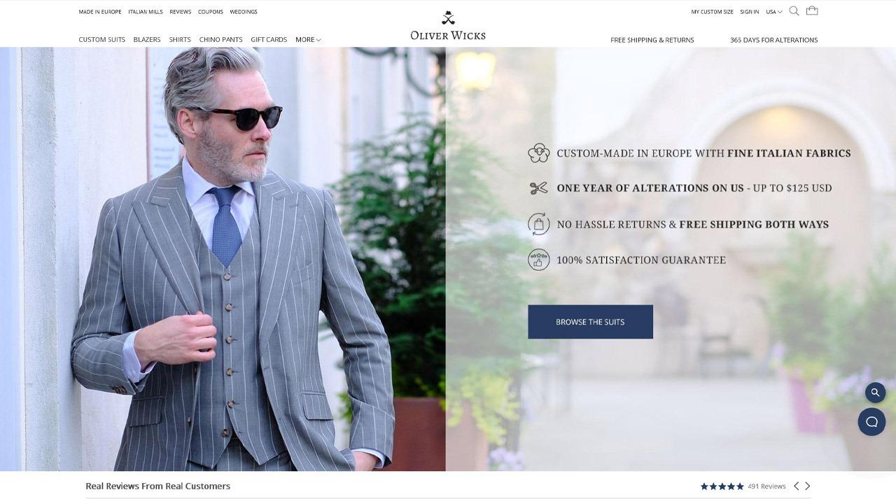 oliver wicks homepage