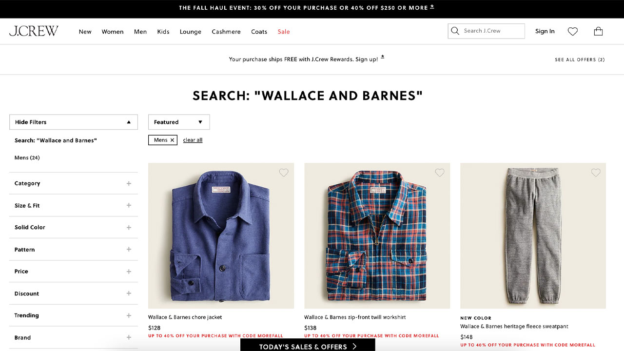 wallace and barnes homepage