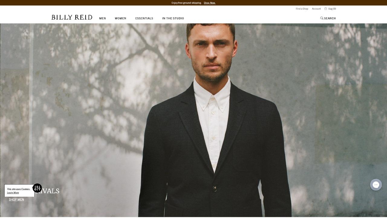 billy reid homepage