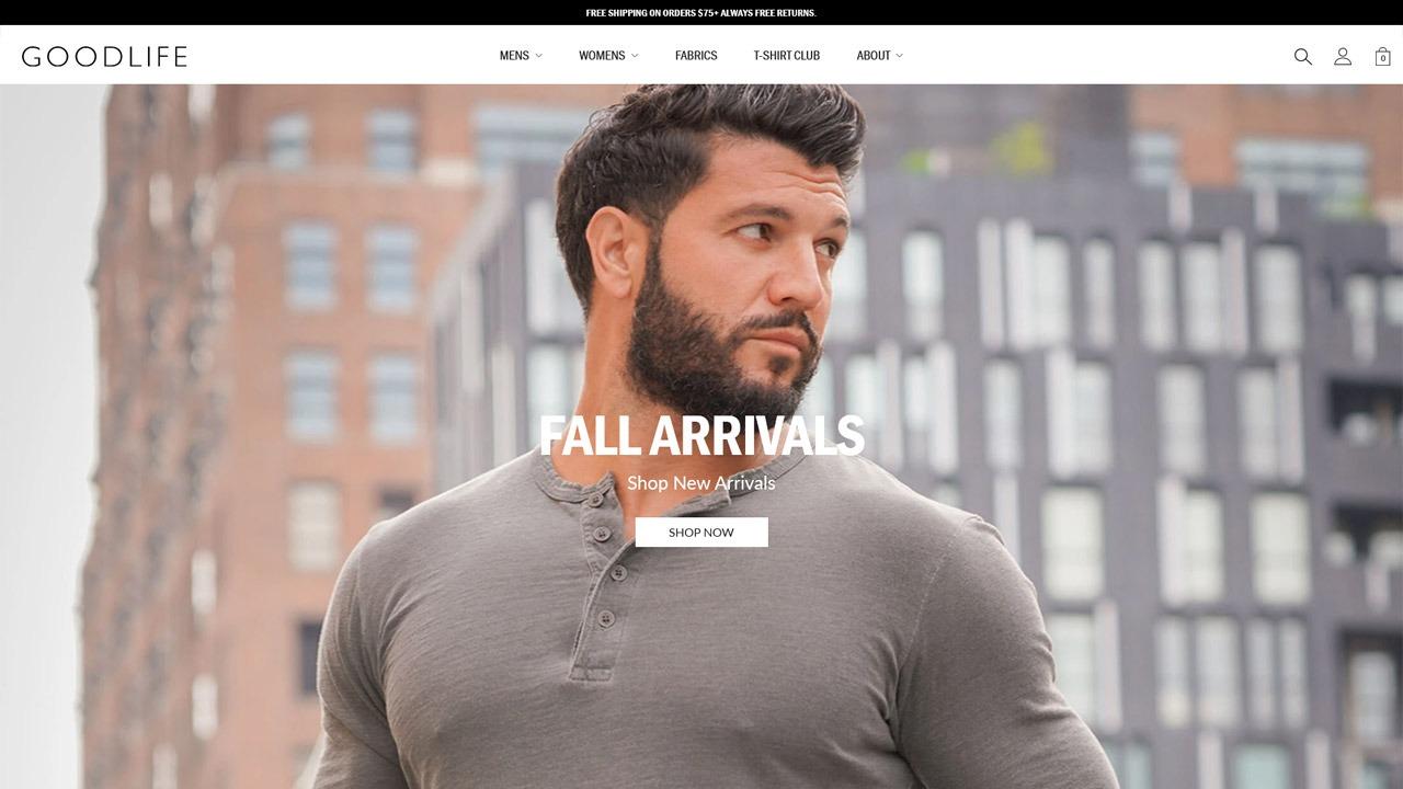 goodlife homepage