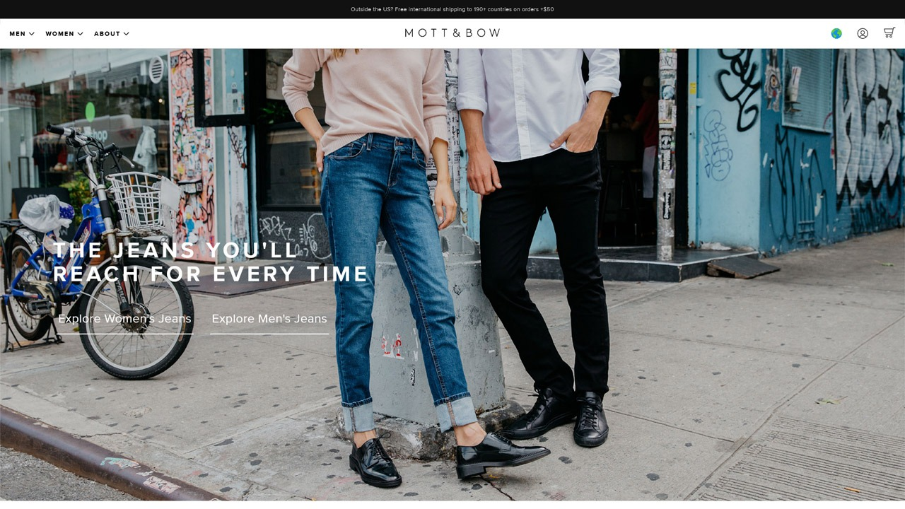 mott and bow homepage