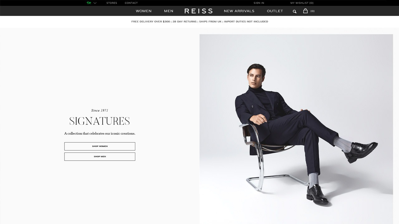 reiss homepage